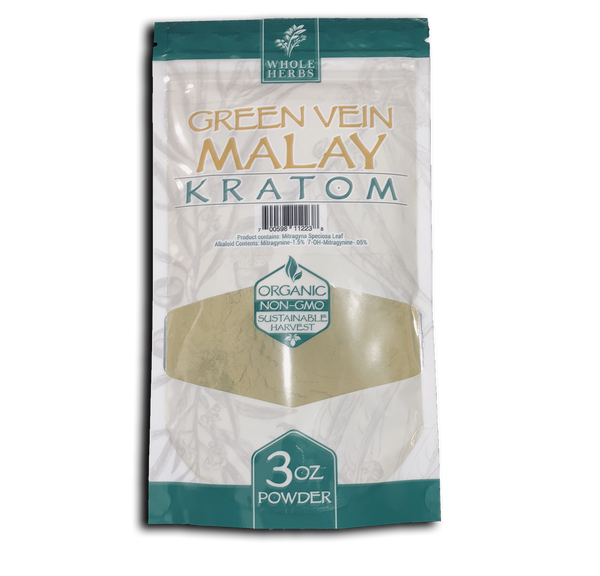 Whole Herbs Green Vein Malay Kratom Power