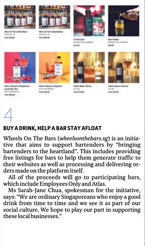 Straits Times - Wheels on the Bars - 2