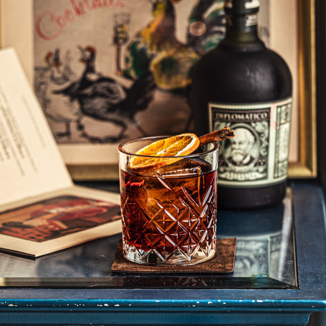 Moonstone Bar Rum Old Fashioned