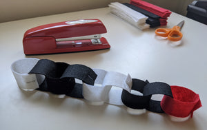 Make a Binary Paper Chain