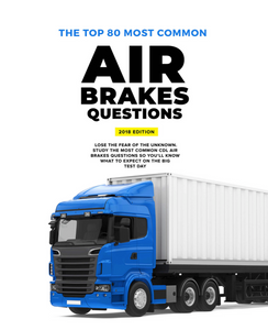 CDL Air Brakes Most Frequently Asked Questions