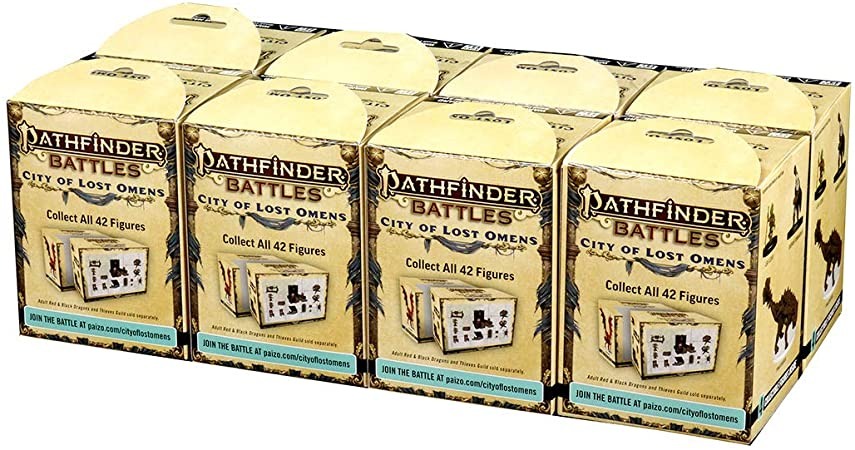 Pathfinder Battles City of Lost Omens Miniature Brick