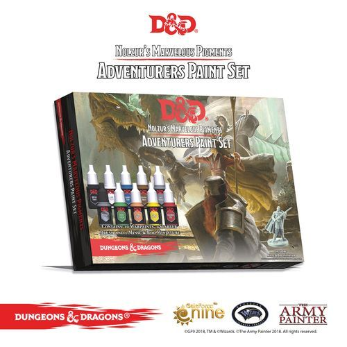 Nolzur's Marvelous Pigments Adventurer Paint Set