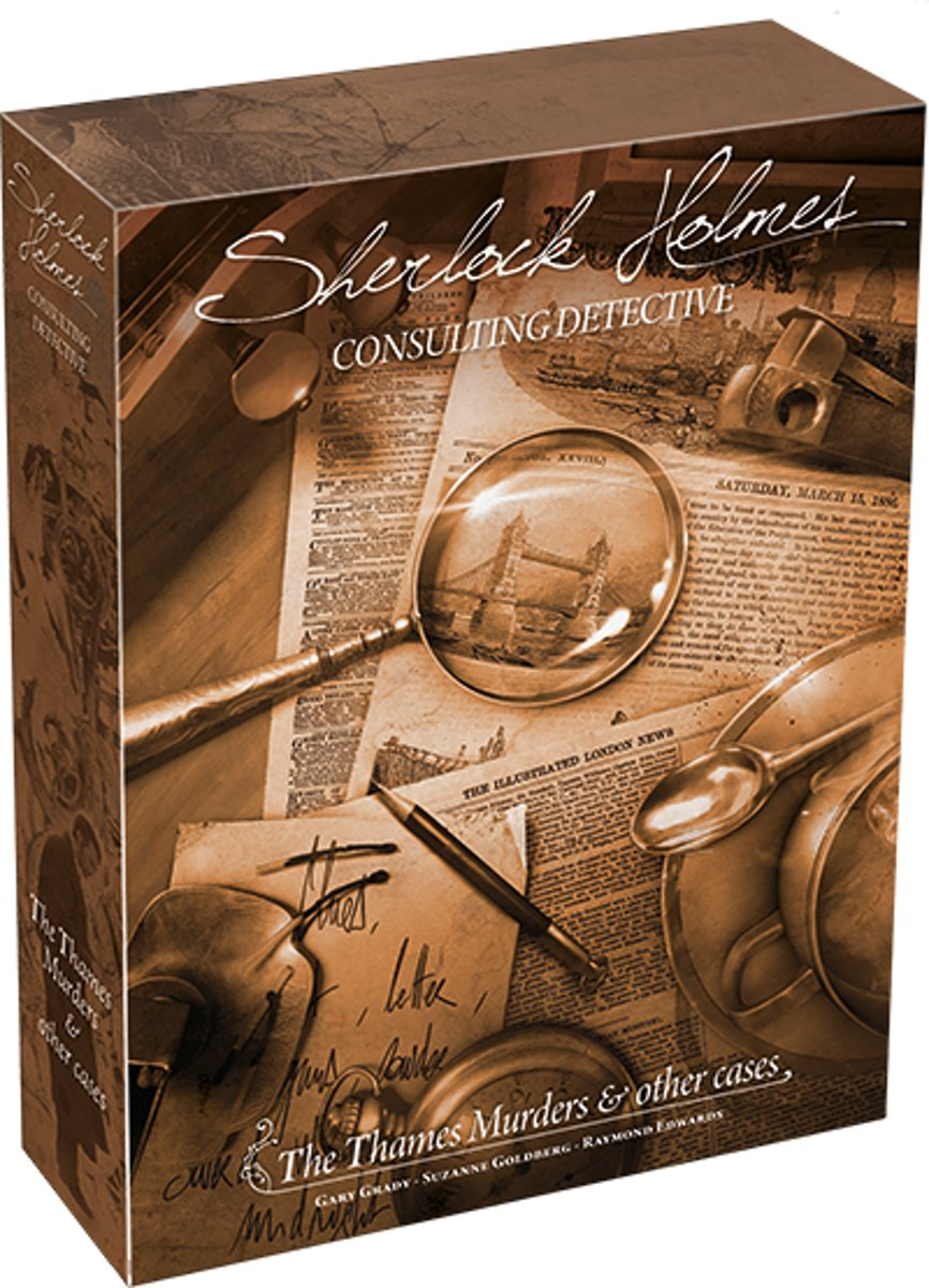 Sherlock Holmes Consulting Detective- Thames Murders