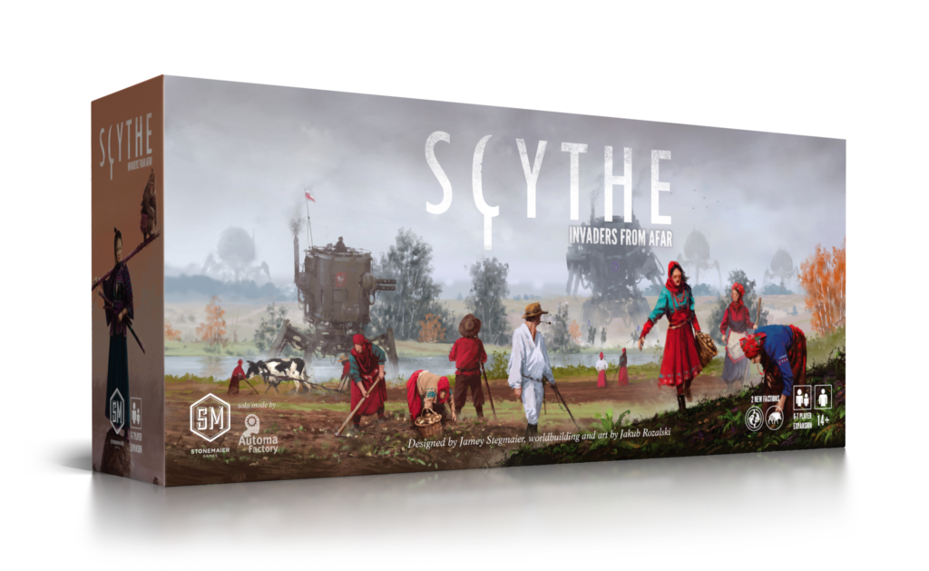 Scythe- Invaders from Afar