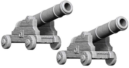 Unpainted Mini - Cannons (PF)