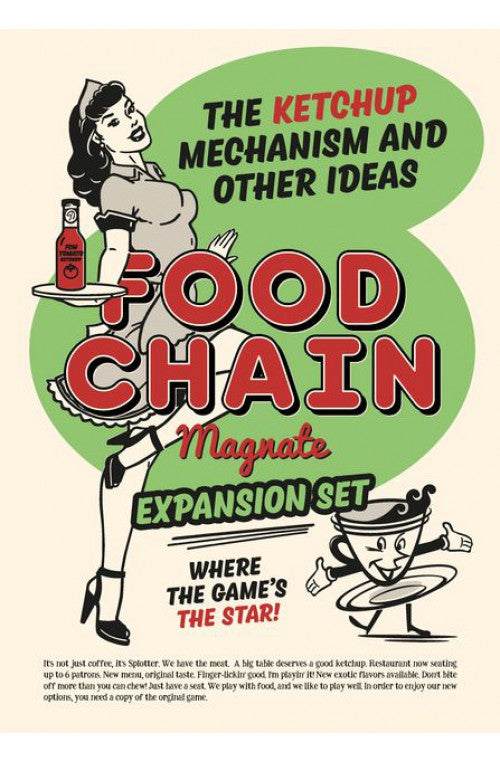 Food Chain Magnate- The Ketchup Mechanism