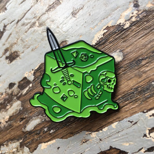 RPG pin - Gelatinous Cube