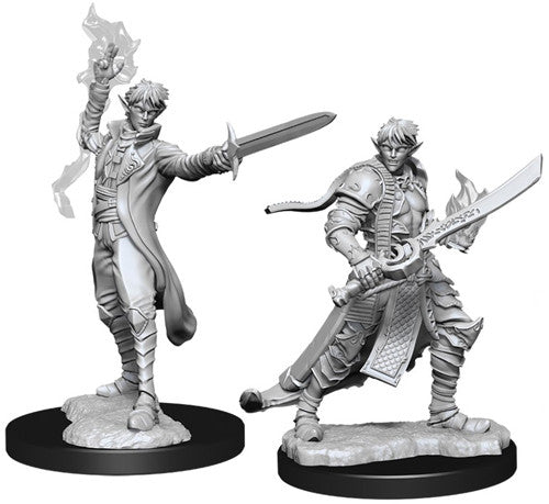 Unpainted Mini - Male Elf Magus (PF)