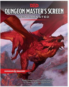 D&D Dungeon's Masters Screen Reincarnated