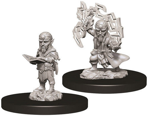 Unpainted Mini - Gnome Male Sorcerer (PF)