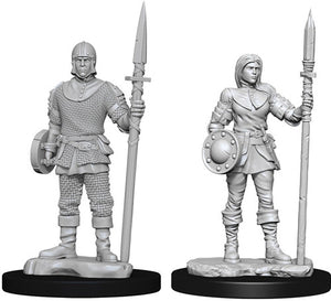 Unpainted Mini - Guards (PF)