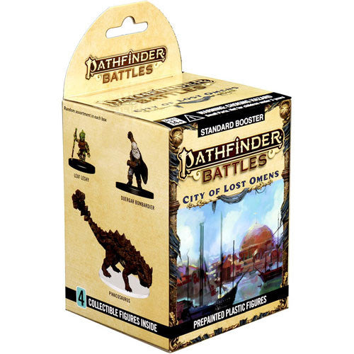 Pathfinder Battles City of Lost Omens Miniature Booster