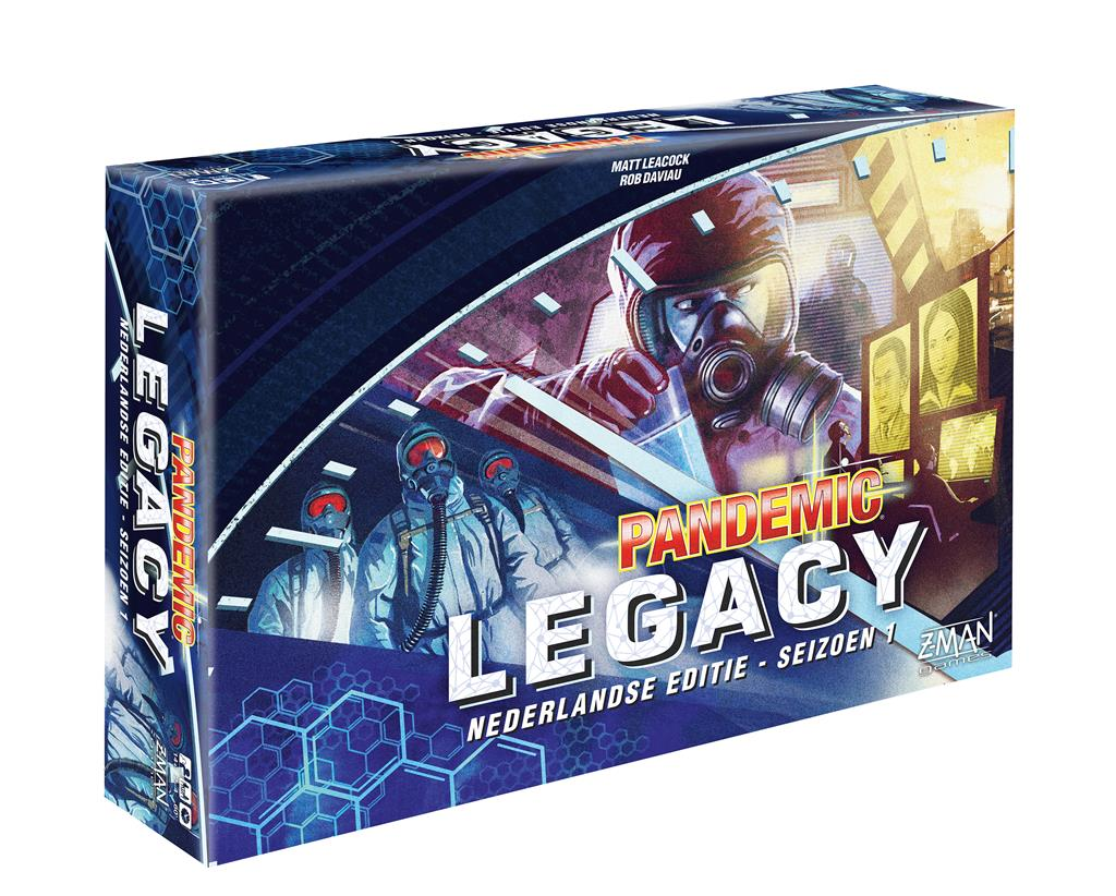 Pandemic Legacy NL Blue