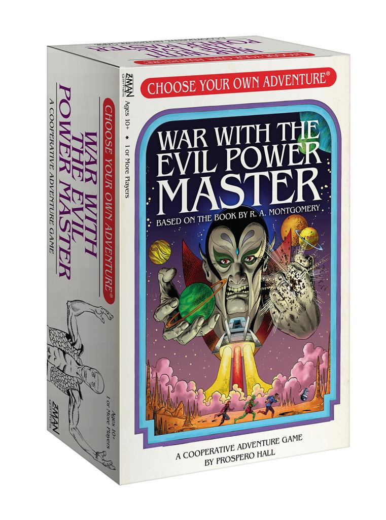 Choose Your Own Adventure- War With the Evil Power Master