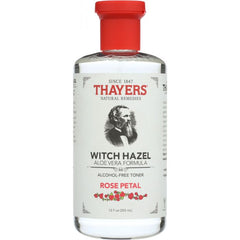 THAYERS: Witch Hazel Aloe Vera Formula Alcohol-Free Toner Rose Petal, 12 oz