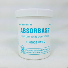 ABSORBASE for Dry Skin Conditions (UNSCENTED) 16OZ JAR