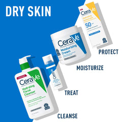 CeraVe Moisturizing Cream | Body and Face Moisturizer for Dry Skin | Body Cream with Hyaluronic Acid and Ceramides | 19 Ounce 19oz Moisturizing Cream