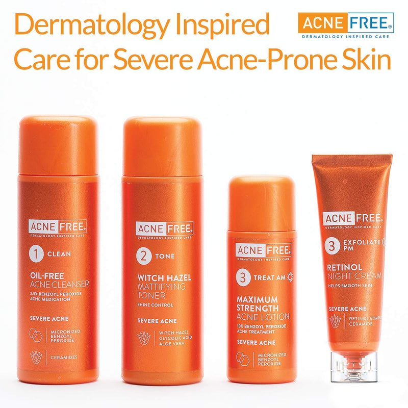 Acnefree 24 Hour Severe Acne Clearing System, 11.52 Ounce