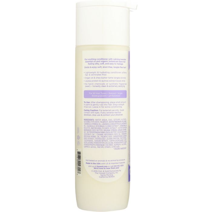 THE HONEST COMPANY: Ultra Calming Honest Conditioner Dreamy Lavender, 10 oz