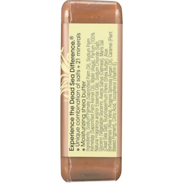 ONE WITH NATURE: Dead Sea Mineral Bar Soap Mild Exfoliating Vanilla Oatmeal, 7 oz