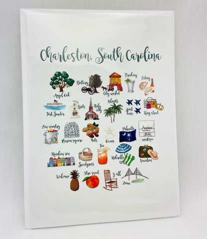 Charleston Alphabet Notecards