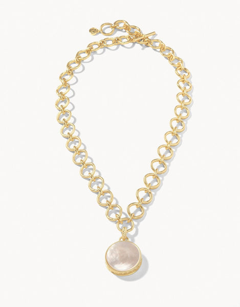 Naia Chunky Mother of Pearl Necklace