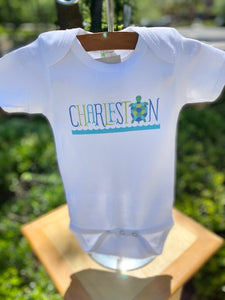 Charleston Turtle Onesie
