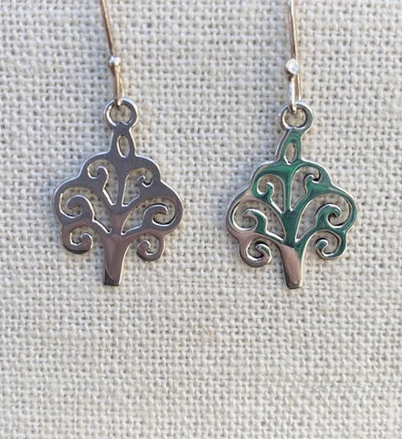 Brookgreen Gardens Sterling Silver Earrings