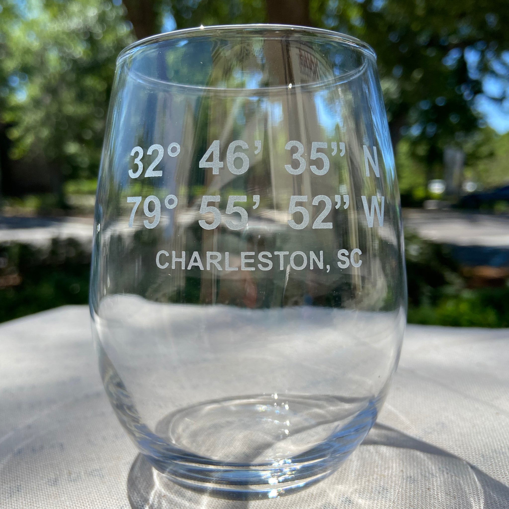 Local Coordinates Wine Glass