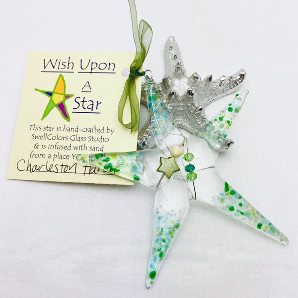 Wishing Upon A Star Sand Ornament