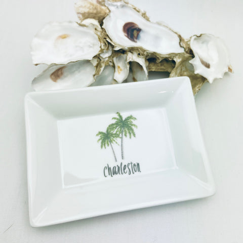 Palm Tree Mini Dish