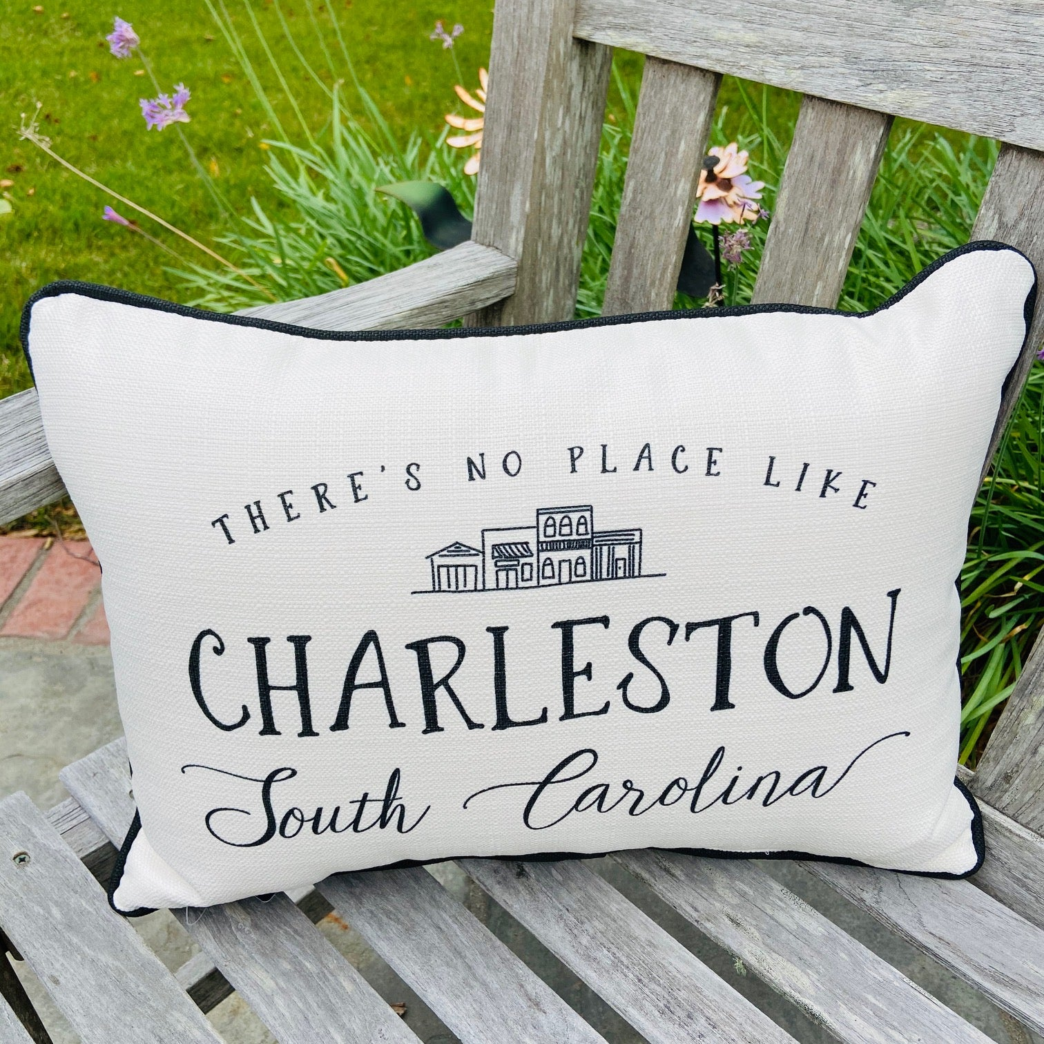 No Place Like Charleston Pillow