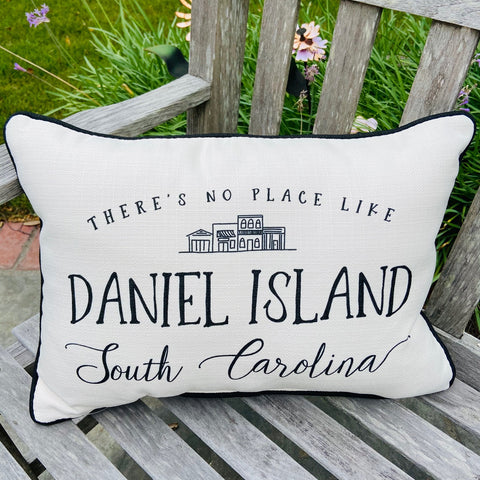 No Place Like Daniel Island Pillow
