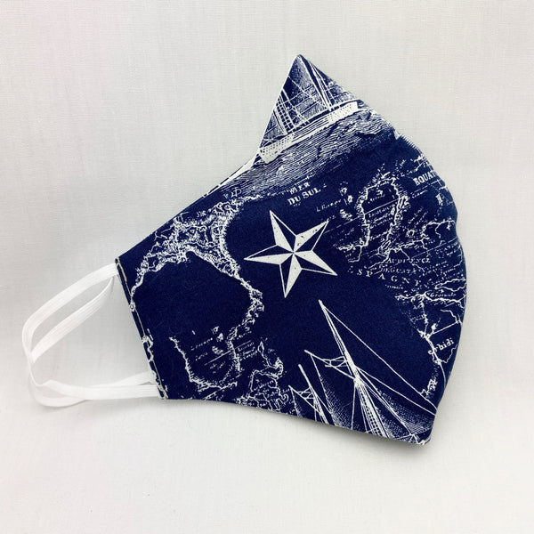 Men's Navy Blue Explorers Mask