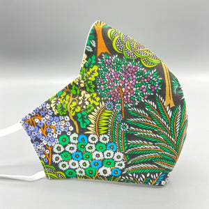 Colorful Foliage Fitted Mask