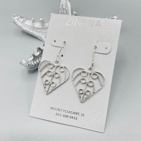 Heart Gate SP Earrings