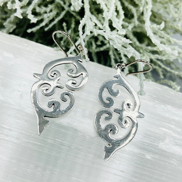 Simmons Filigree Sterling Silver Earrings