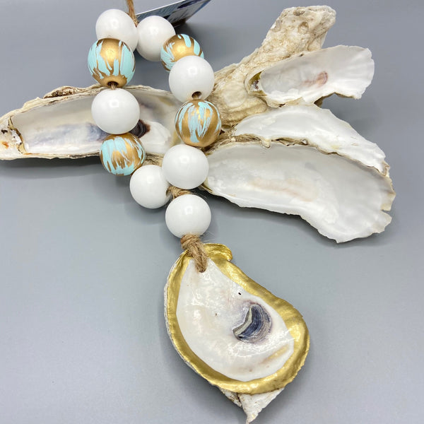 Welcome Beads with Oyster Shell