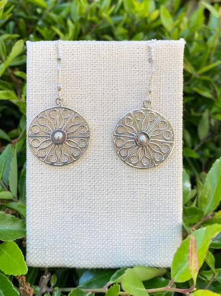 Wheel Gate SP Earrings