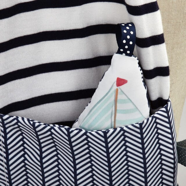Mommy & Me Activity Scarf Nautical