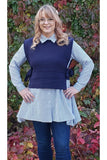Gabby Isabella 2-in1 Tunic with Sweater Vest