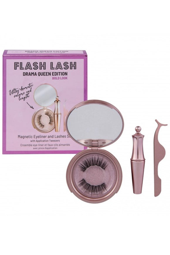 Aria Flash Lash DRAMA QUEEN Magnetic Eyeliner & Eyelash Kit