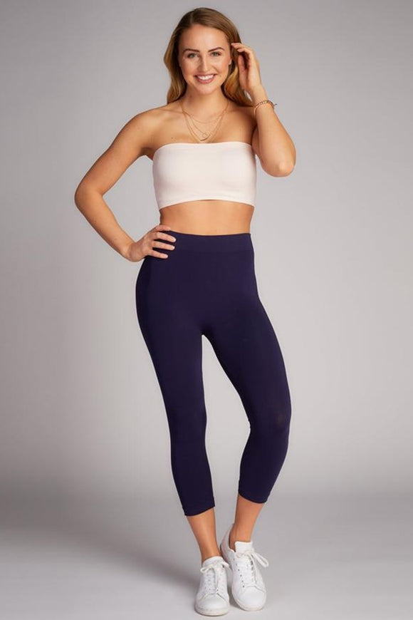 c'est moi 3/4 Length Bamboo Leggings - 4 Color Options