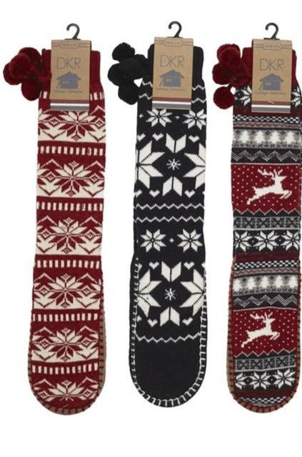 DKR Moccasin Lounge Socks