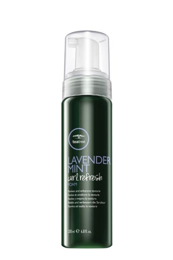 Paul Mitchell Tea Tree Lavender Mint Curl Refresh Foam Dry Shampoo