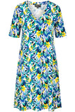 Zilch Printed Swing Dress