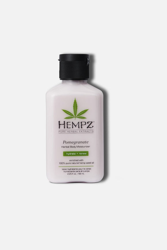 HEMPZ Mini Pomegranate Herbal Body Moisturizer