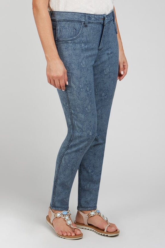 Renuar Reversible Denim Pant