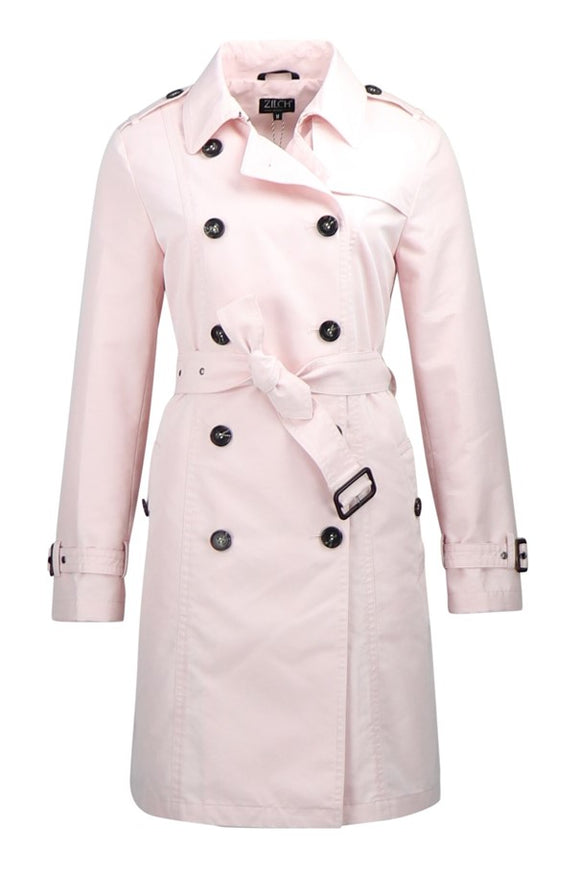 Zilch Blush Trenchcoat